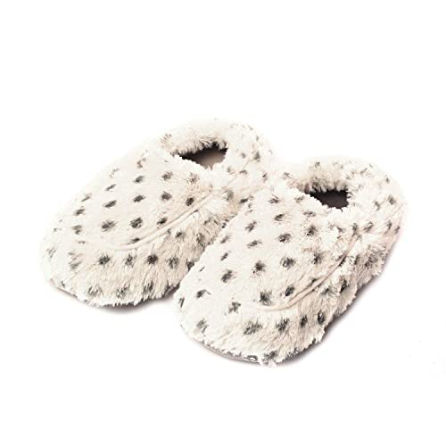 a7ea7927d2b Intelex Fully Microwavable Luxury Cozy Slippers Snowy 5-9