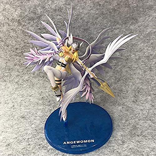 NoNo Schön Digimon Monster Anime Figur Modell Angewomon Statue Home Decoration Alltag Leben Sammlerstück Kinderspielzeug Geschenk 24CM