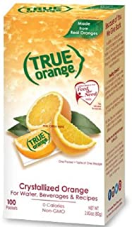 True Citrus Orange 100 Count, red