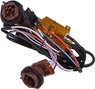 50W 6 Ohm 3157 4157 Load Resistors Fix Hyper Flash for Switchback LED Turn Signal Blink Light LED License Plate Lights Error Code Resistors (2-Pack)