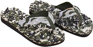 Alaso Tongs Hommes Adulte Sandales d'été Pantoufles Pas Cher Brasil Flip Flops Chaussures de Plage Camouflage Piscine Chau...