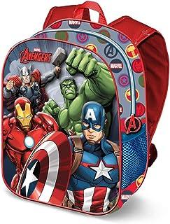Karactermania The Avengers Force-3D Rucksack (Klein) Mochila Infantil 31 Centimeters 8.5 Multicolor (Multicolour)