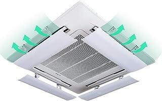 SR Aire Acondicionado Central Deflector de Viento Accesorios del acondicionador de Aire Antirretorno contra el Viento Blowles de protección (una Pieza) (Size : 54cm)