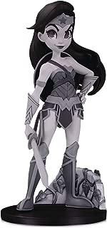 DC Artists Alley: Wonder Woman (Black & White Variant) by Chrissie Zullo Designer Vinyl Figure