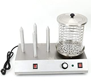 Réchauffeur de machine à saucisses pour appareil Hot Dog, Chauffe-saucisses professionnel Hot Dog 538 W 230 V