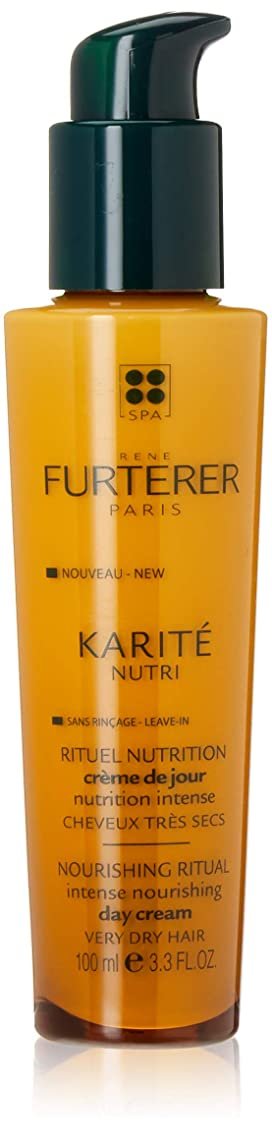 眩惑するまばたき発行ルネ フルトレール Karite Nutri Nourishing Ritual Intense Nourishing Day Cream (Very Dry Hair) 100ml/3.3oz並行輸入品