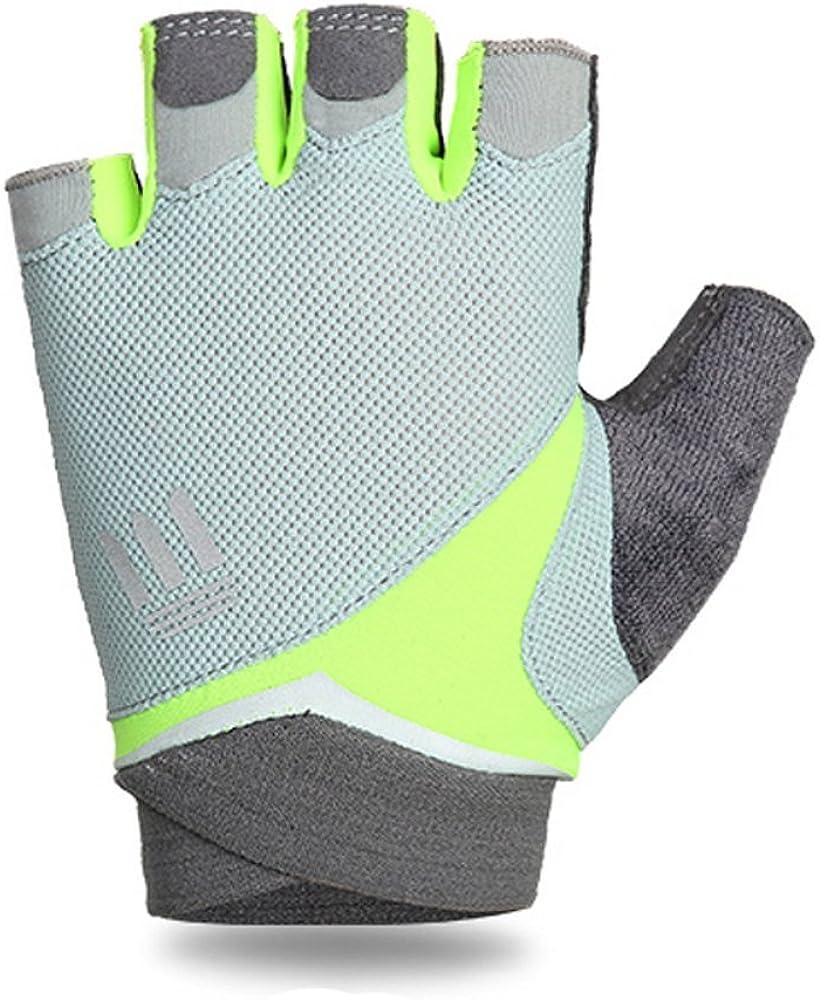 Women's ventilated bike,cycling, driving,riding, training,running, sports, Extra Grip antislip Half finger Glove