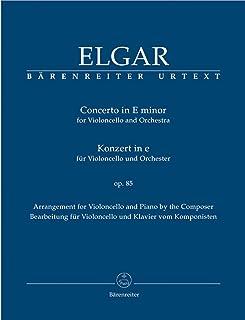 Concerto for Cello in E minor Op.85 (Cello & Piano)