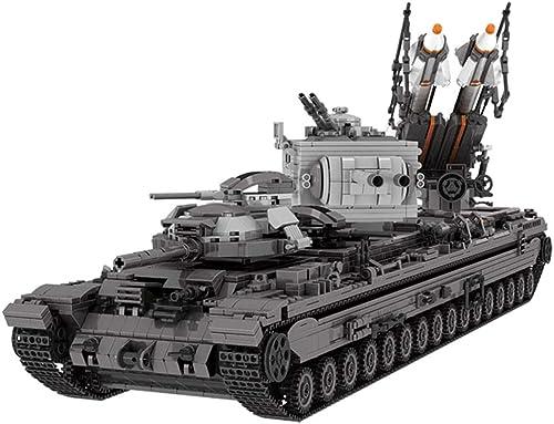 compras online de deportes Yyz Serie Militar Militar Tanque Tanque Tanque Pesado KV-2 montado Bloques de construcción Infantil Educativo Juguetes Niños  punto de venta en línea