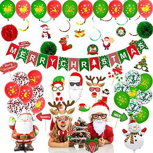 Xnuoyo Weihnachtsfeier Ballon De...