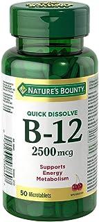 Nature's Bounty B-12 2500mcg 50 Count