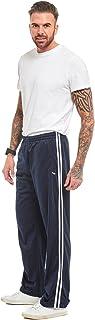 MyShoeStore Mens Track Suit Bottom Casual Elasticated Waist Tracksuit Bottoms Silky Joggers Jogging Jog Trousers Leisure G...