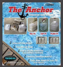Main Access Universal Anchor Swimming Pool Ladder Step Sand Weight (4 Pack)