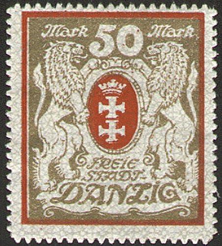 Goldhahn Danzig Nr. 100 Xa ungestempelt geprüft+Typ signiert Briefmarken für Sammler