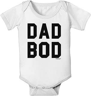 Iliogine Dad BOD Design Newborn Boys Girls Bodysuit