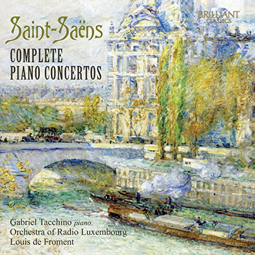 Gabriel / Orch. Of Radio Tacchino - Saint-Saens; Complete Piano Concert
