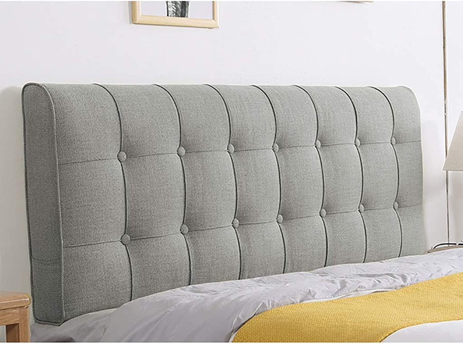 Reading pillow Back support pillow Headboard Cushion Wall Pillow Read Sofa Pillow Lumbar Pillow, 10 color Bed Pillow 1 Sizes Modern Minimalist Style (1205810CM) Soft Case Sofa Large Double Beds Back