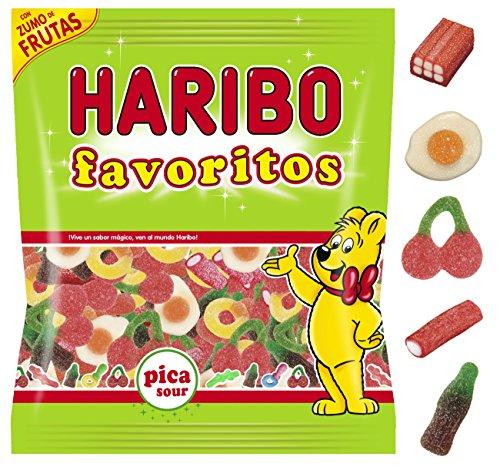 Haribo Favoritos Pica Caramelos de Goma - 275 gr