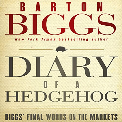 Diary of a Hedgehog audiobook cover art