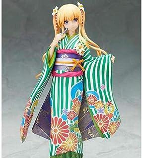 LF-YGJ Estatua de Anime Heroine No Sodatekata Eriri Spencer Sawamura Kimono Figuras de acción Colección de Juguetes Caja d...