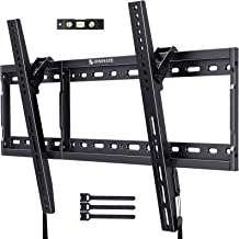 Tilting TV Wall Mount Bracket Low Profile for Most 37-70 Inch Flat Curved Screen LED LCD OLED TVs Tilted Mount Max VESA 60...
