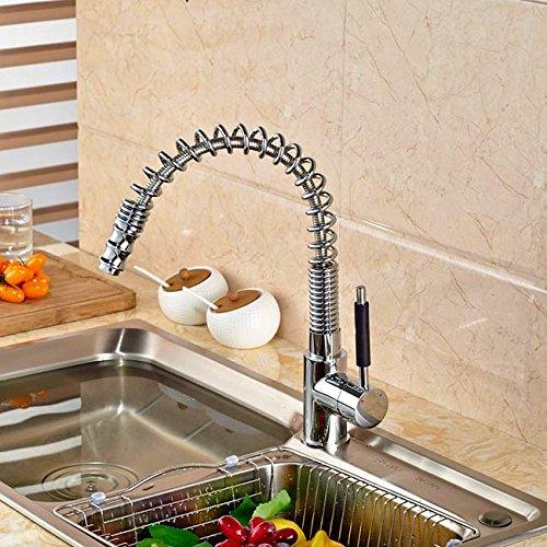 Torneira Gourmet para Cozinha Extensível com giro de 360 graus - LMS-5018