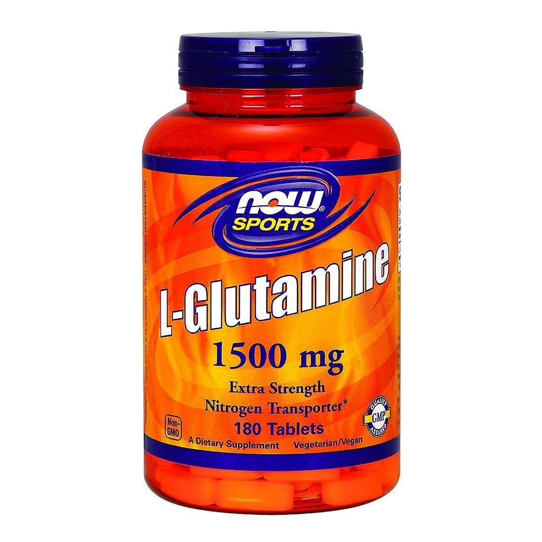 物足りない沈黙誤解する[海外直送品] ナウフーズ  - Lグルタミン 1500 mg。180錠剤