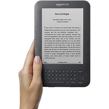 "Kindle Keyboard, Wi-Fi, 6"" E Ink Display"