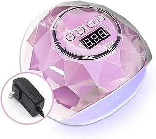 M-YN Lámpara Secadora de Uñas LED/UV UV LED del Clavo de la lámpara, 110W Profesional del secador del Clavo del Polaco del Gel de la lámpara LED de Gel de Ajuste de Temporizador Nails (Color : Pink)