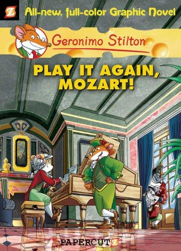 Geronimo Stilton Graphic Novels #8: Play It Again, Mozart! (English Edition)