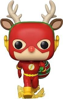 Figura de vinilo Funko Pop! DC Heroes: DC Holiday - The Flash Holiday Dash