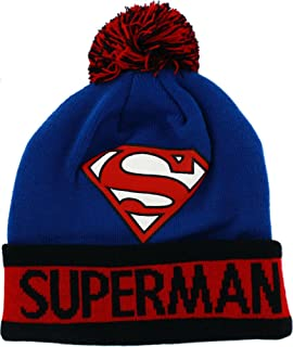 Amazon.com  Superheroes Novelty Beanies   Knit Hats a4f608766252