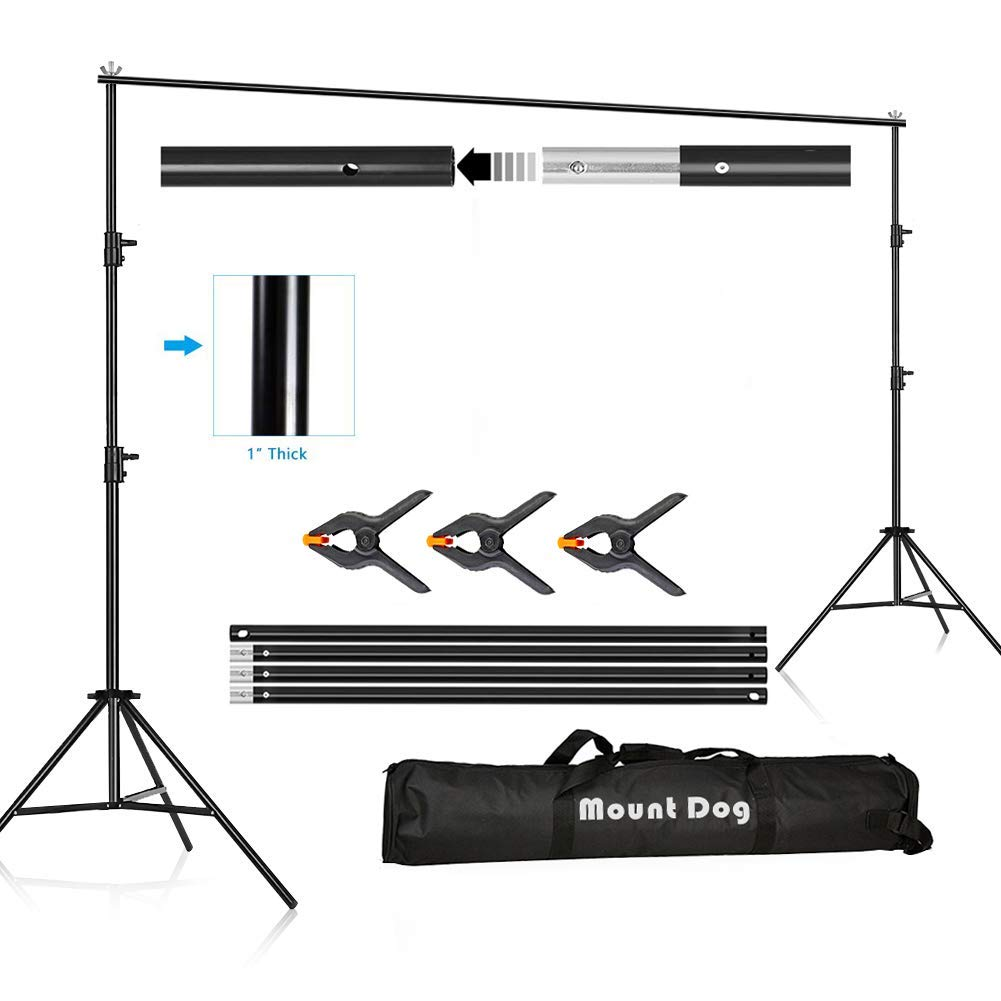 New High Quality Home Studio Background Support Kit 2m*2m W// Bag