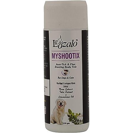 Lozalo My Shootix Anti Tick & Flea Powder for Dog & cats, 150 gram