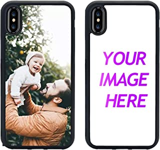 Customized Case for iPhone Xs Max Personalized Custom Picture Phone Case Customizable Slim Soft and Hard Tire Shockproof Protective Phone Cover Case Make Your Own Phone Case