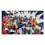 Fabulous Poster Affiche Goldorak Mazinger Gredizer Go Nagai Mecha Manga(61x108cmB)