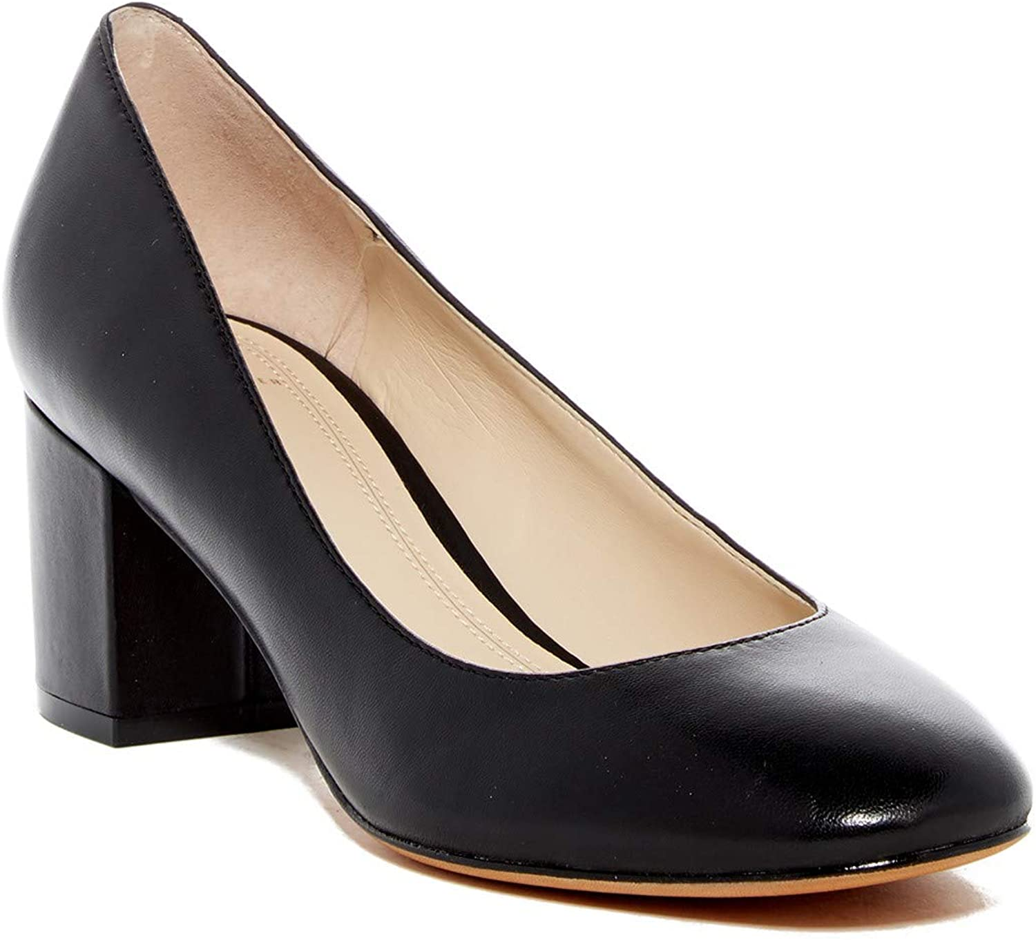 Marc Fisher Womens Wiley Leather Closed Toe D-Orsay Pumps