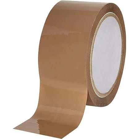 6-36 Klebeband Packband Paketband Paketklebeband Posten Echte 66m x 48mm Braun