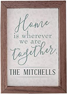 Best home is wherever we are together sign Reviews