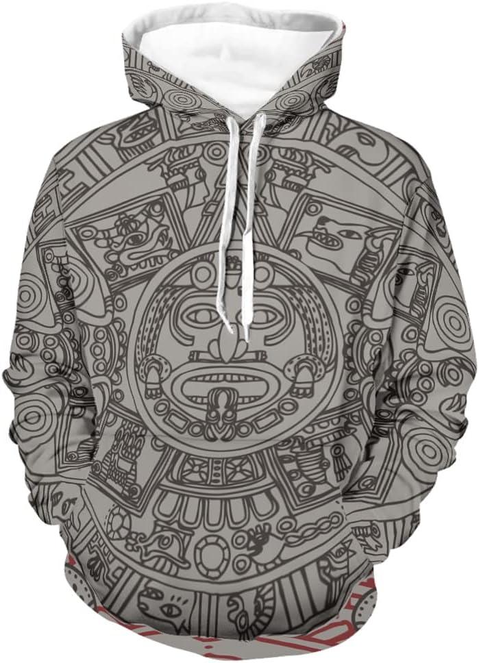 Arlington Mall Chhome Unisex Pullover Hoodie Hooded Sweatshirts Industry No. 1 Incan Azt Mayan