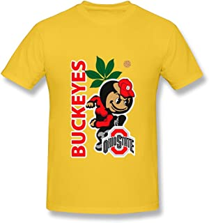 HUBA Men's Tees Ohio State Buckeyes 2 Black