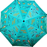 Cheeky Chunk Monsoon Magic 3 Fold Designer Umbrella