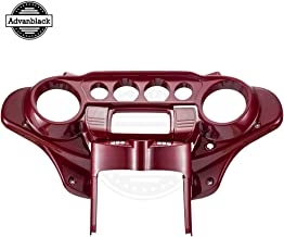 Moto Onfire Advanblack Hard Candy Hot Rod Red Flake Front Inner Batwing Fairing Kits Fit for Harley Touring Road King Special Street Glide Special Road Glide Special 2018