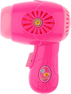 MagiDeal Dollhouse Miniature Hair Dryer Home Appliance 7.5 X 5.5 X 13 Cm Kids Role Playing Pink