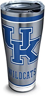 Tervis NCAA Kentucky Wildcats Tradition Stainless Steel Tumbler With Lid, 30 oz, Silver
