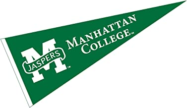 College Flags and Banners Co. Manhattan Jaspers Pennant 12