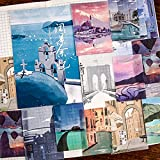 SWECOMZE 40 pegatinas para diario o álbum de fotos para manualidades, álbum de recortes, calendario, pegatinas decorativas (K)