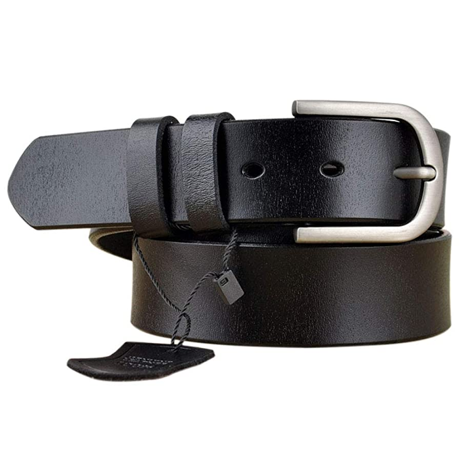 Womens Leather Belts for Jeans, Vonsely Women Leather Waist Belts for Pants