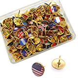 194Pcs World Country Regins Flag Pushpins...