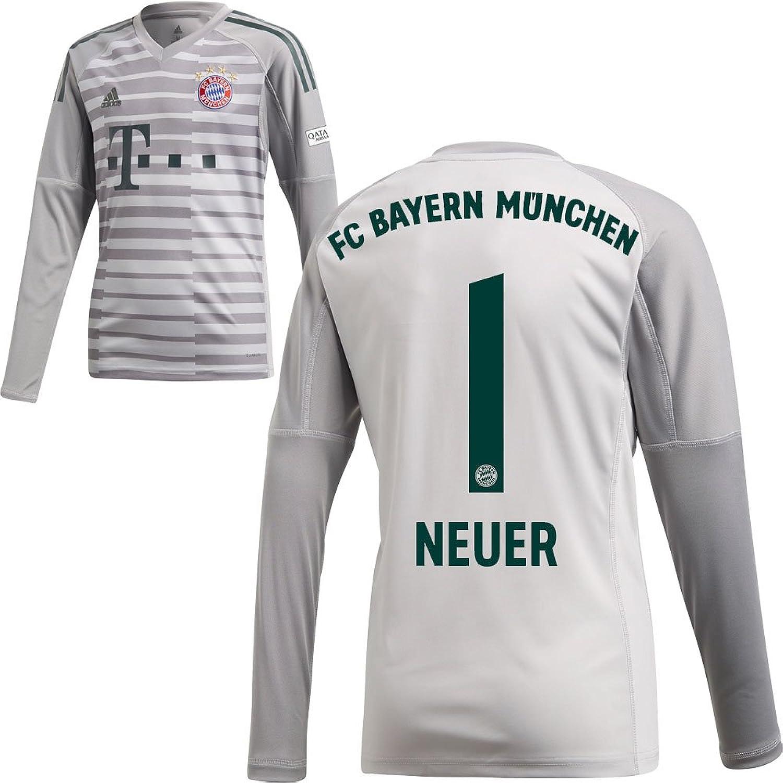 Adidas FC Bayern München FCB Heim Torwart Trikot 2018 2019 mit Aufdruck B07F15ZQ8Z  Spezielle Funktion